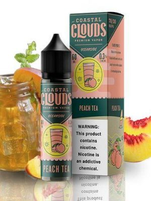 Coastal Clouds Peach Tea 50ml